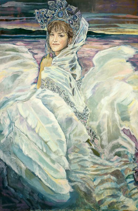 лебедь царевна фото